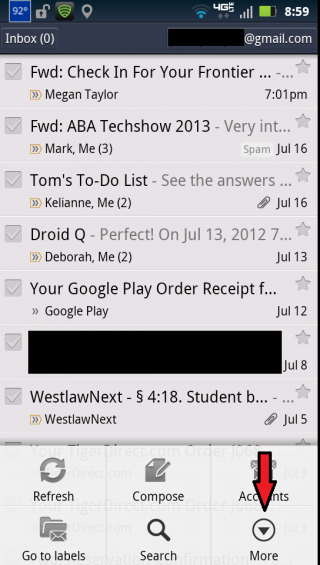 How to: Change Your Email Signature in Android