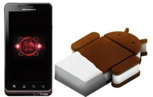 Ice Cream Sandwich on Your Motorola Droid Bionic