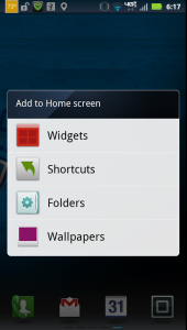 How-to: Widgets, Shortcuts, Folders, Wallpapers