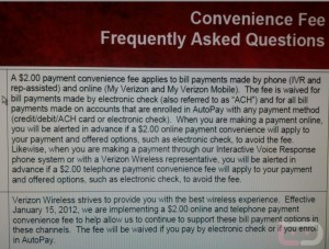 First the Data Outage, Now a Payment Service Fee
