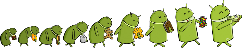 Manu Cornet Evolution of Android