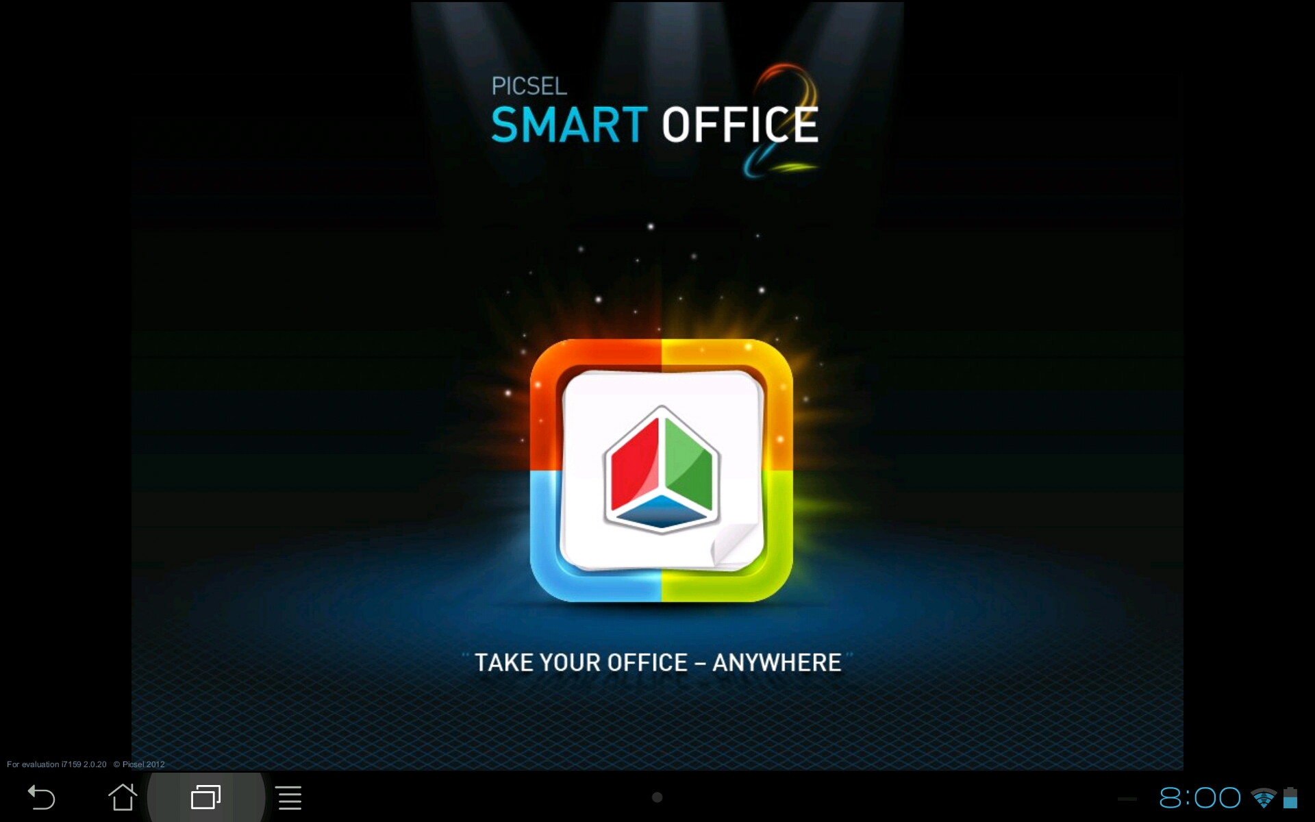 Android app review smart office 2 the droid lawyer for Miroir mp60 projector