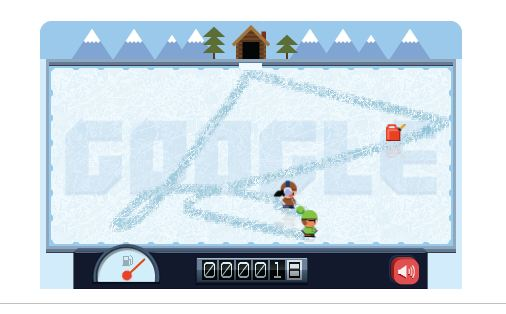 Zamboni Google Drawing Game