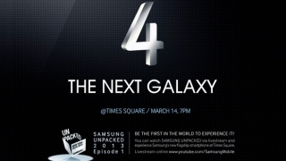 March 14 Means a New Samsung Galaxy S4