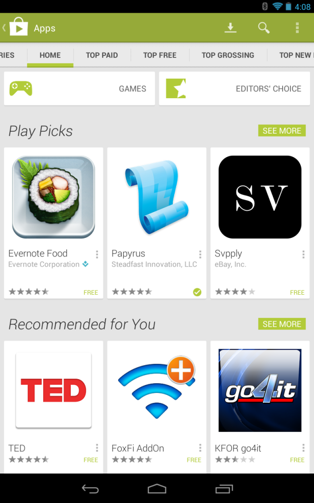 Google Play Picks