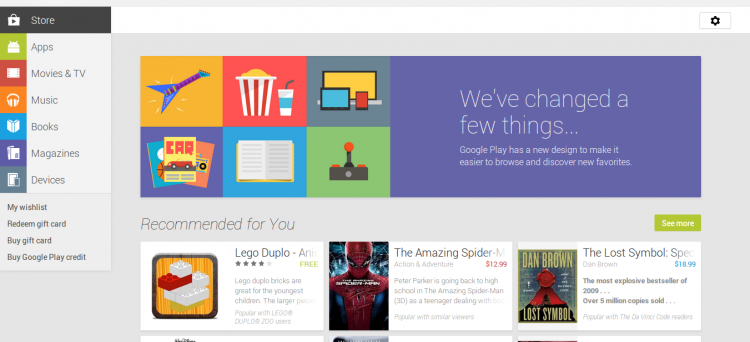 Google Play - July 15 2013