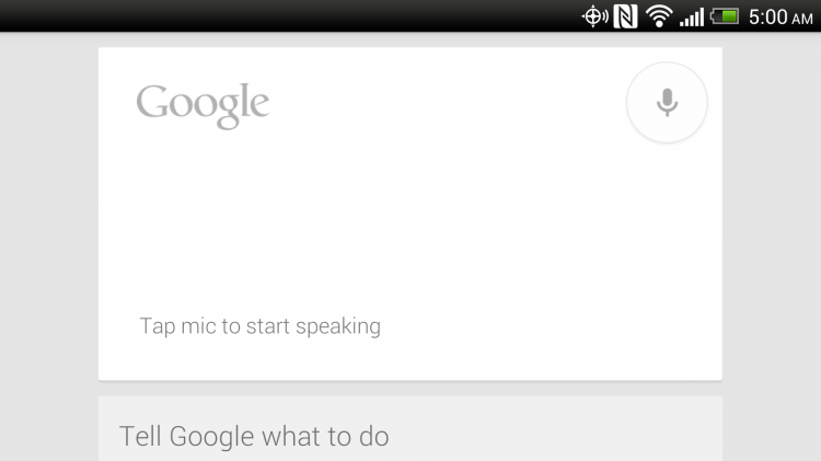 Android Voice Commands