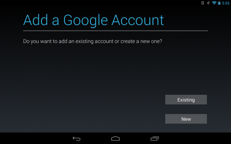 Add a Google Account