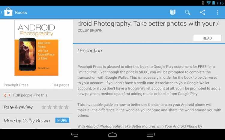 Special Offer: Android Photography eBook