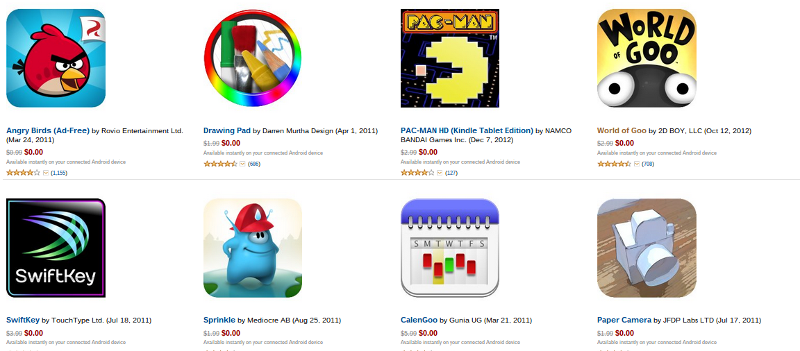 Appstore for Android Greatest Hits