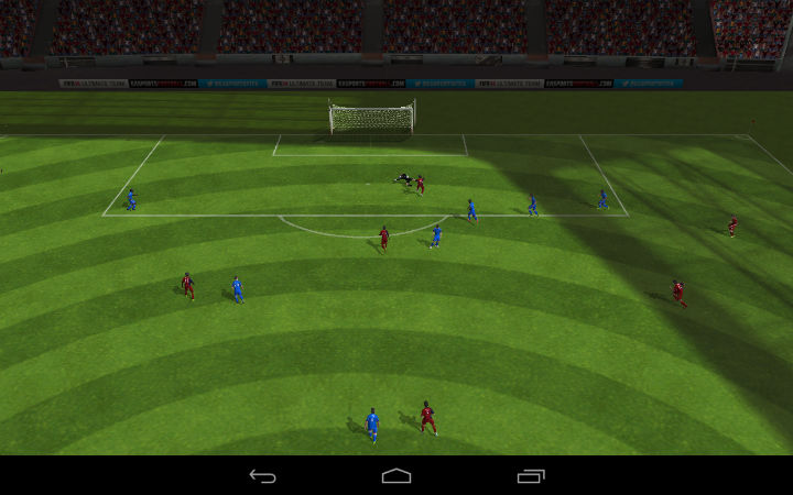 Gameplay FIFA 14 Soccer
