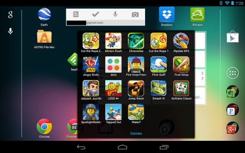 Games Folder Nexus 7