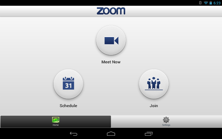 Zoom Cloud HD Meetings