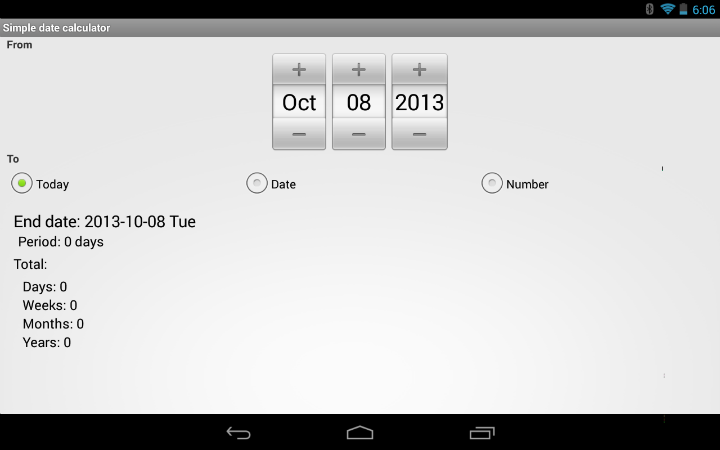 Android App Review: The Best Date Calculator – The Droid Lawyer