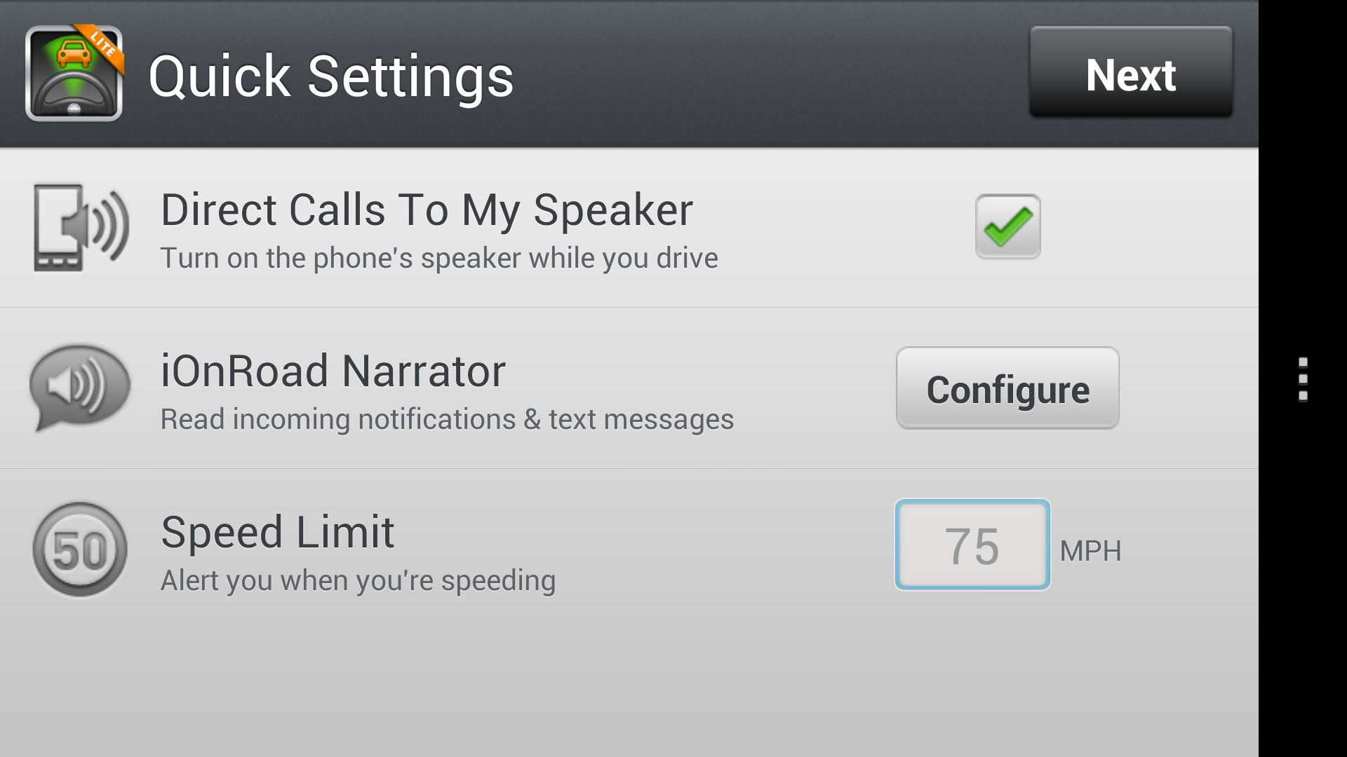 how to have text messages read aloud android