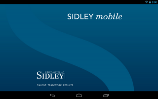 Android App Review: Sidley Austin LLP (or Why Your Law Firm Shouldn't Have a Mobile App)