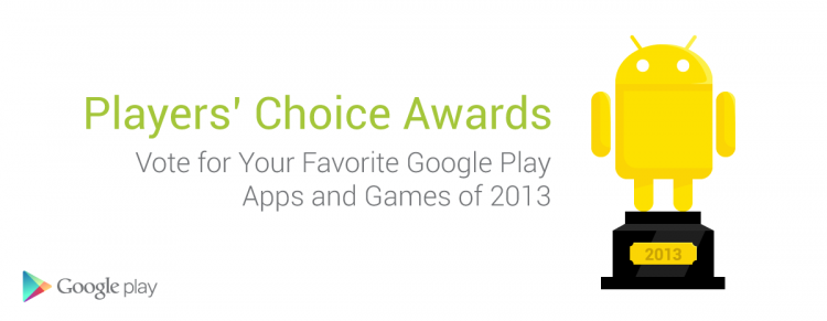 Google Play Players' Choice Awards