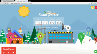 Follow Santa on Your Big Screen [UPDATED]