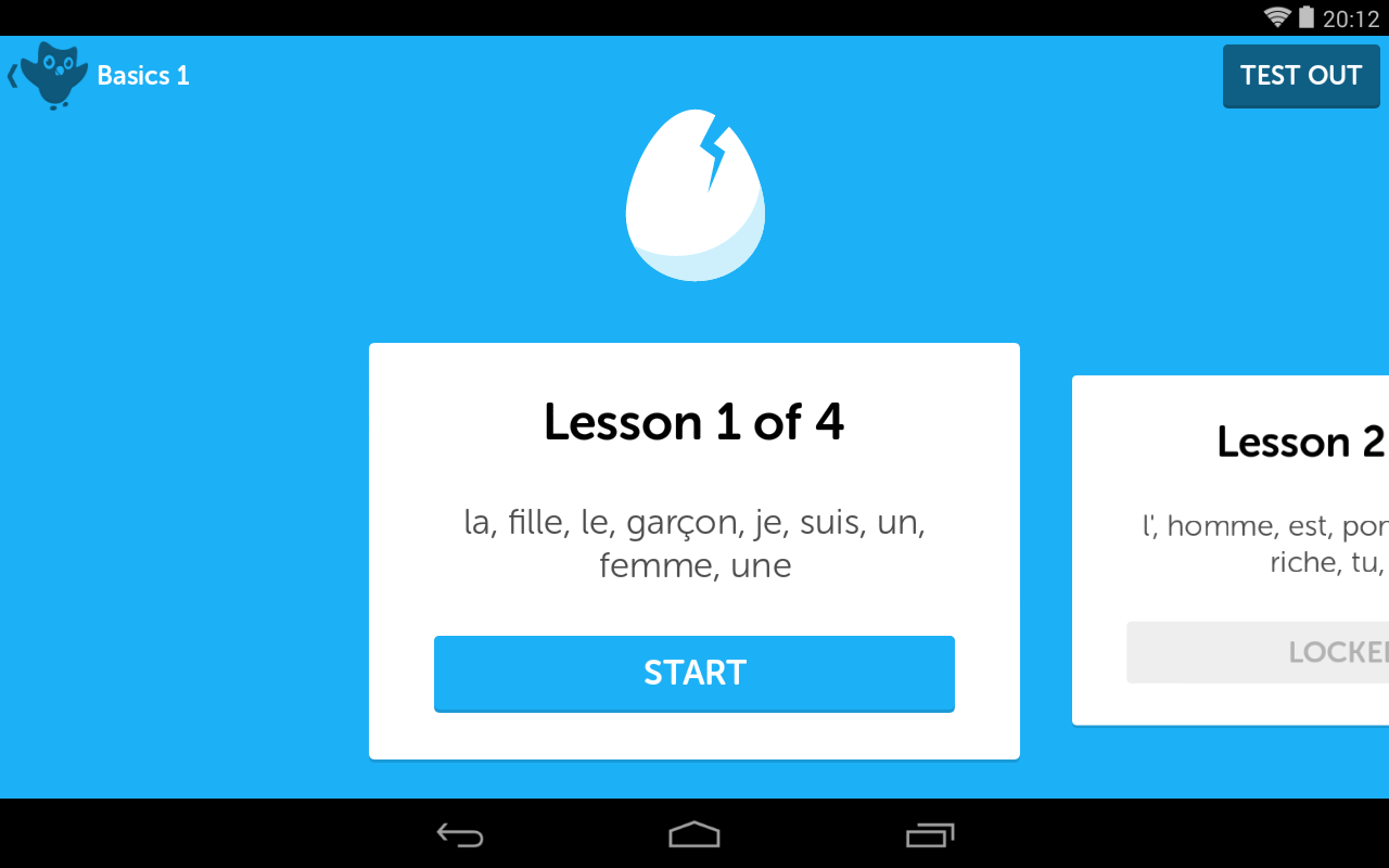 how to delete a language on duolingo app