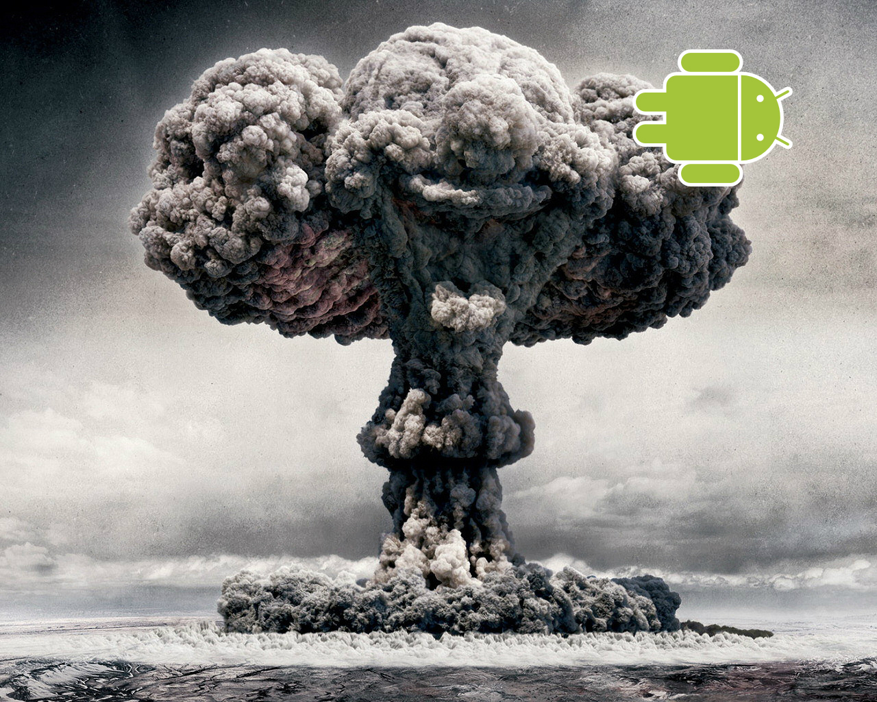 Android Nuclear Explosion