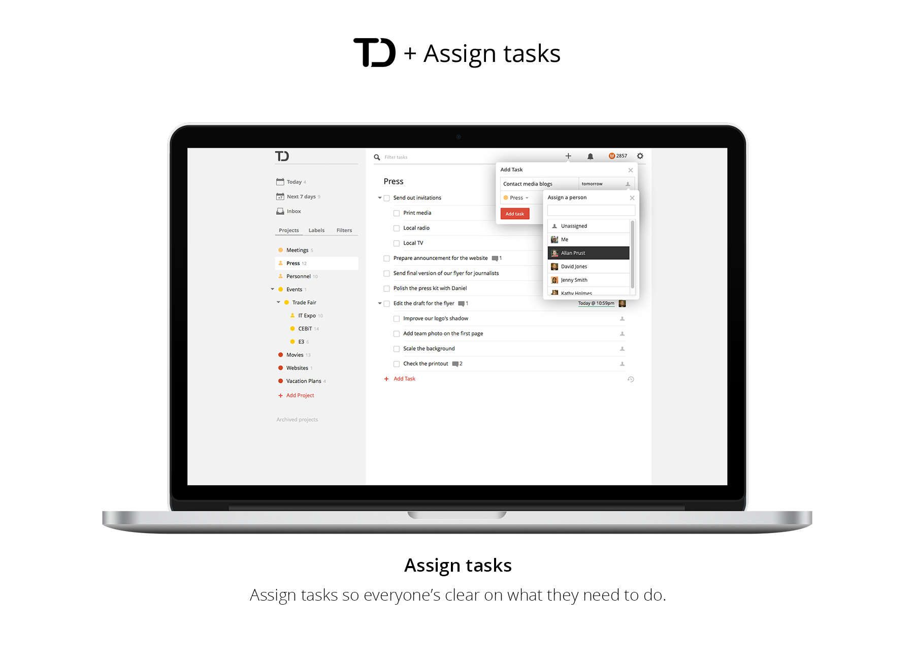 Todoist supercharged the droid lawyer for Todoist project templates