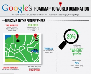 Google Maps' Road to Domination