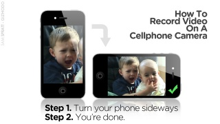 How to: Record a Video with a Cellphone