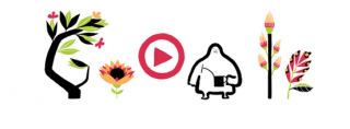 Happy Spring, from Google