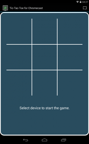 Tic-Tac-Toe for Chromecast