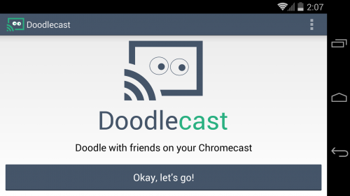 Doodlecast for Chromecast Intro