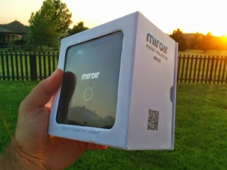Product Review: Miroir MP60 Pocket Projector