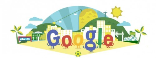 World Cup Brazil Google Doodle