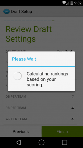 Draft Pro 14 Review Draft Settings Calculation
