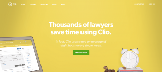 Cloud Practice Management: Clio