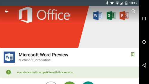MS Word Preview A 5