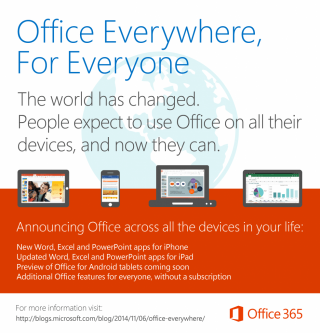 MS Office is Coming to Android