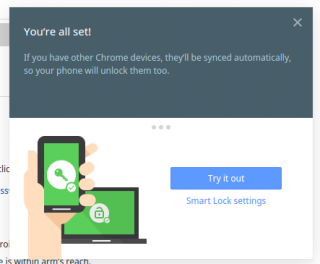 Chrome OS's Newest, Coolest Feature: Proximity Unlock