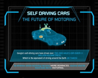 Self-Driving Cars: The Future of Motoring [Infographic]