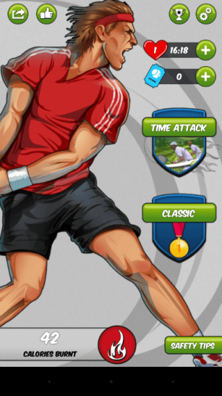 Android App Review: Motion Tennis Cast