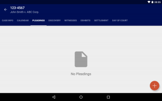 Android App Preview: TrialNote