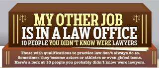 Infographic: Famous People You Didn't Know Were Lawyers