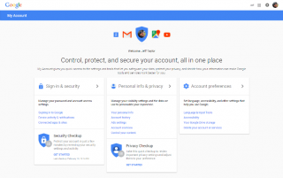 "Google Introduces ""My Account"" — You Know, for Security"