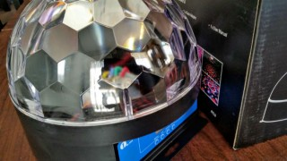 Product Review: 1byone Crystal Dome LED Stage Light