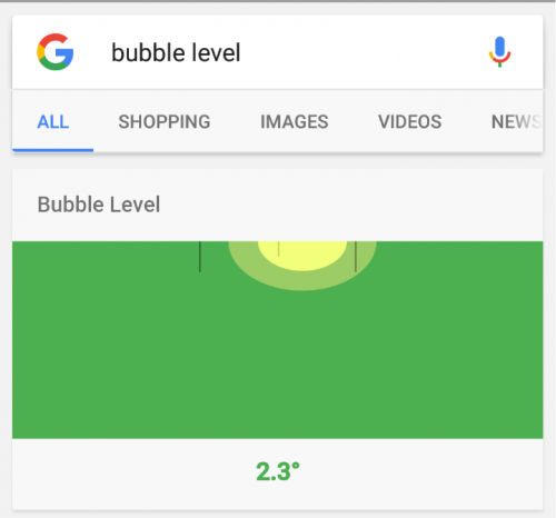 Bubble Level