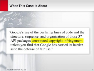 Oracle v. Google: How to Create Beautiful Closing Argument Slides