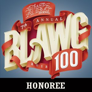 2013 Blawg 100 Honoree