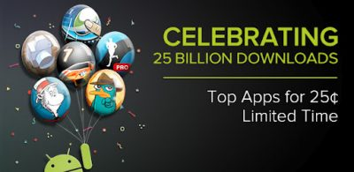 25 Billion Android App Downloads