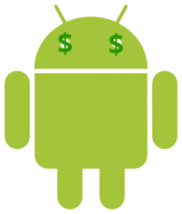 Android Robot Money