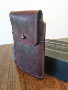Clasped Holster