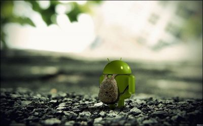 Sad Android courtesy bgr.com